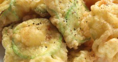 Zucchine fritte in pastella, ricetta