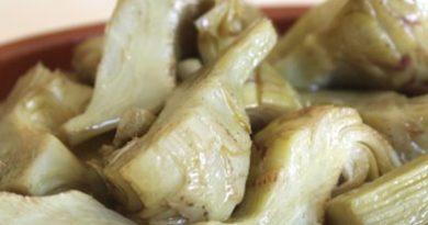 Carciofi sardi sott'olio, ricetta