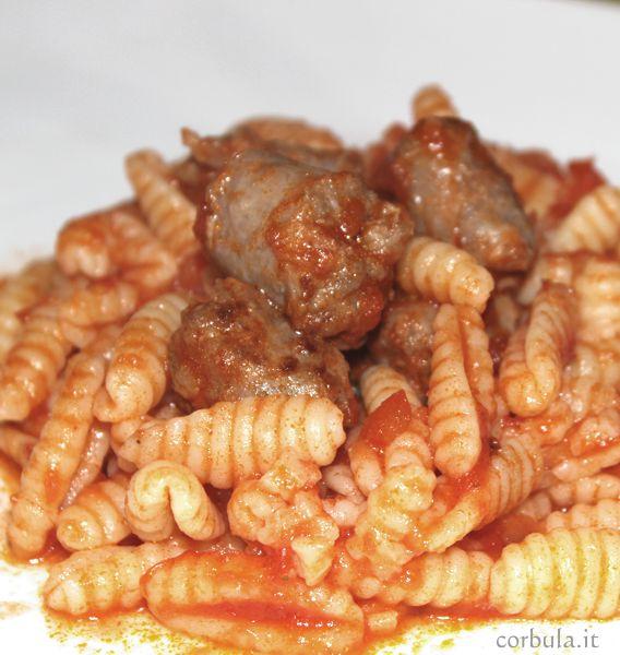 Malloreddus alla Campidanese, ricetta