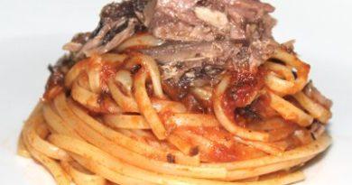 Pasta con Buzzonaglia di tonno, ricetta